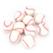 10Pcs Set Hot Sale Bouncing Baseball Ball Rubber Elastic Jumping Ball Kids Outdoor Ball Toys Wholesale