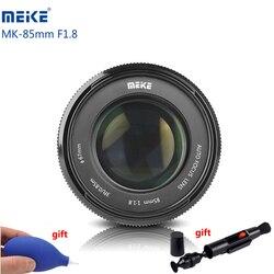 Объектив камеры Meike MK 85 мм F1.8 F/1,8 с автофокусом, полнокадровый DSLR Объектив для объектива Canon EOS EF, Крепление объектива 6D 600D 80D 5D Lentes