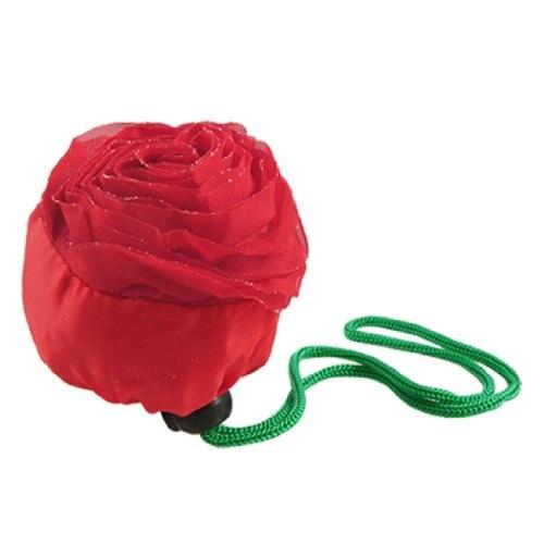 2016 Rose Blumen Faltbare Wieder Tasche Frauen Umweltfreundliche Tragetaschen Mädchen Einkaufstasche Frauen