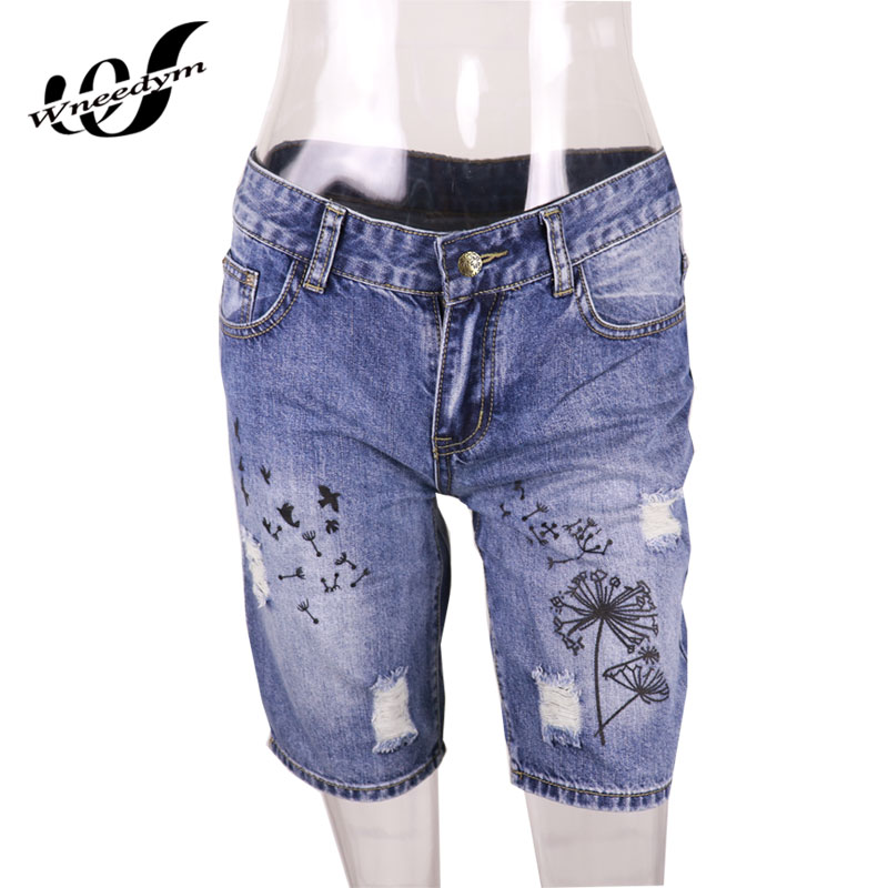 Knee High Denim Shorts Promotion-Shop for Promotional Knee High ...