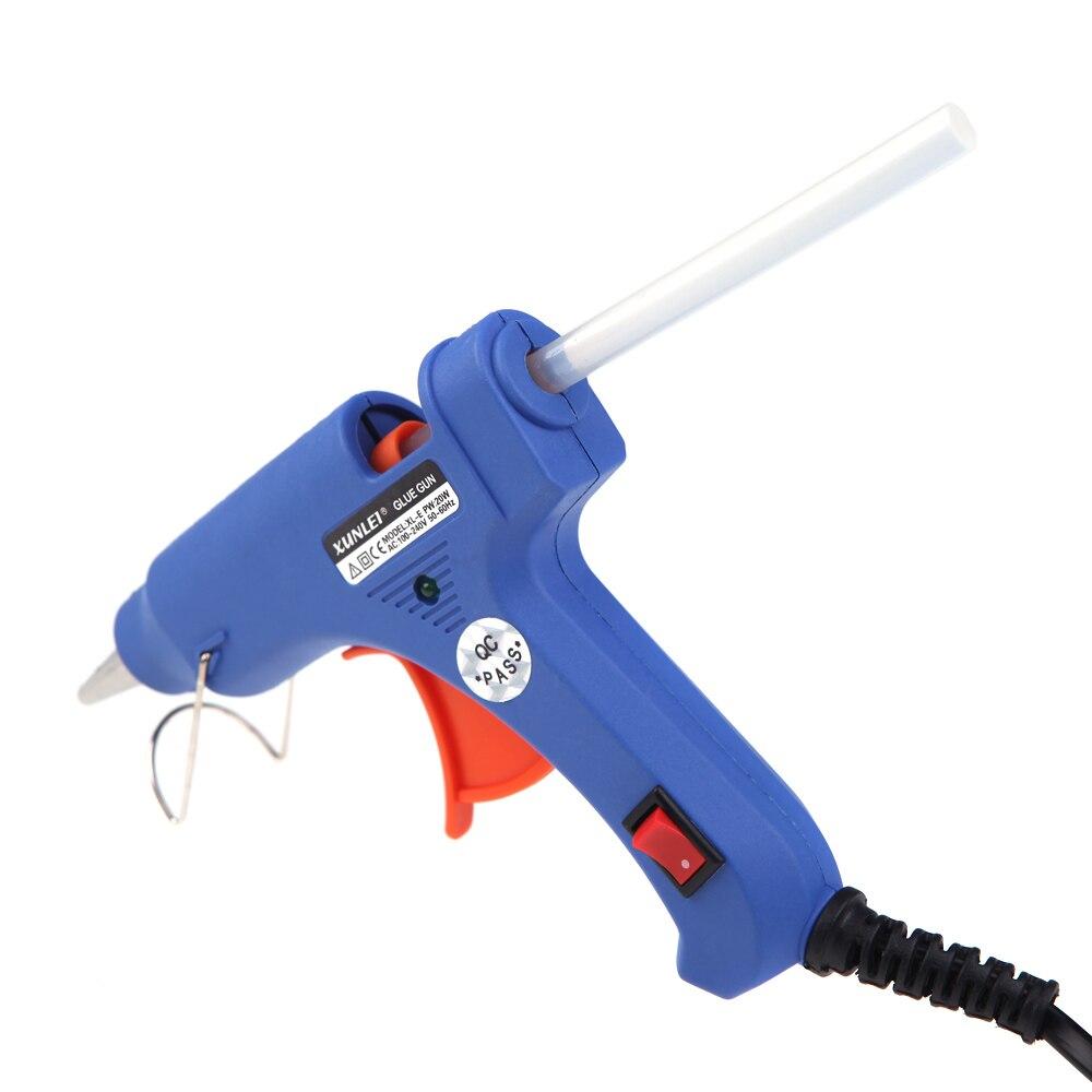 XL-E20 Haute Température Chauffe-Pistolet À Colle 20 W Handy Professionnel pistolet à colle avec de La Colle chaude Bâtons Greffe Outil De Réparation