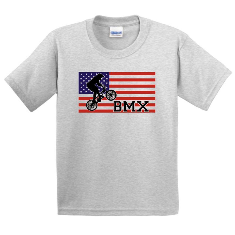 american pride bmx bikes youth tshirtcrew neck t shirt2017 new - American Pride T Shirt