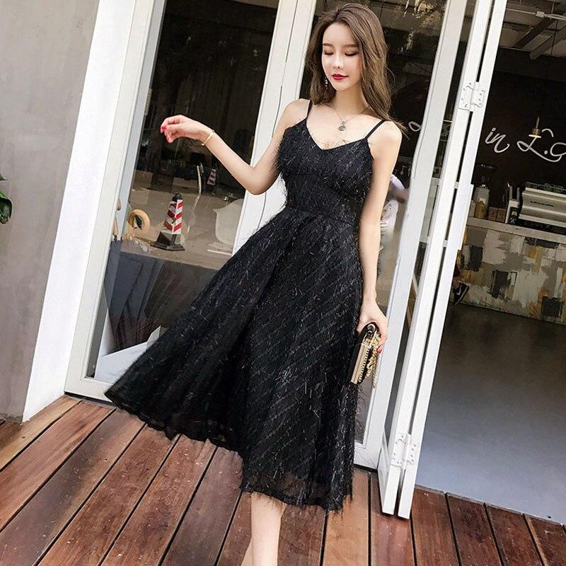 Feather Glitter Sequin Sparkle Long Dresses White Black Tassel Maxi Dress 2018 Sexy Off Shoulder Tassel Mesh Lace Maxi Dresses