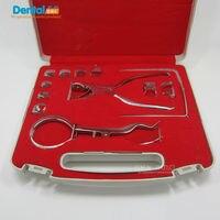 1 Set Teeth Care Dental Dam Perforator Dental Dam Hole Puncher Dental Rubber Dam Puncher For Dental Lab
