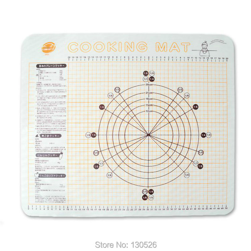 Medium Size 54X54cm Silicone Insulation Pads Resist High Temperature Oven Baking Mat Pastry Working Mat Baking