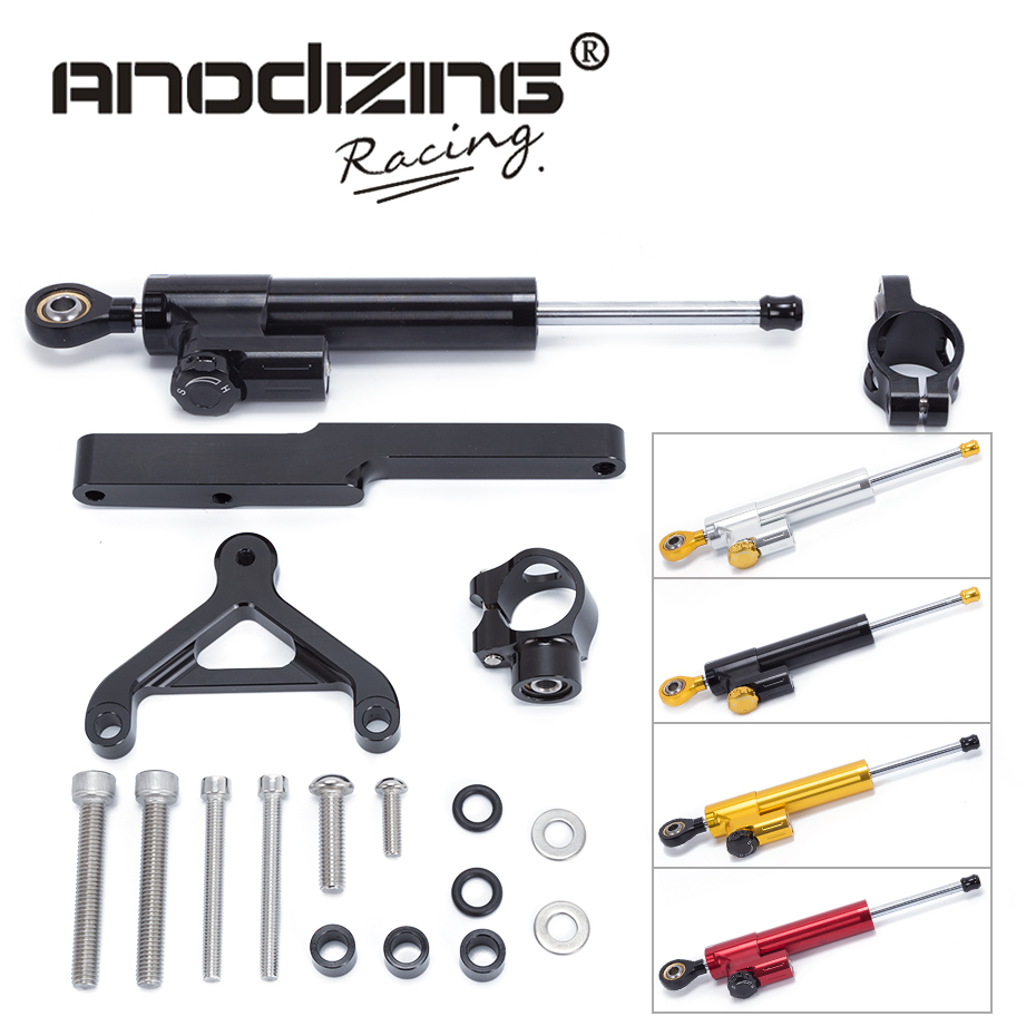 FREE SHIPPING For HONDA CB1000R 2008-2016 Motorcycle CNC Steering Damper Stabilizerlinear Reversed Safety Control with Bracket free shipping for ducati 848 2008 2009 2010 motorcycle cnc steering damper stabilizerlinear reversed safety control with bracket