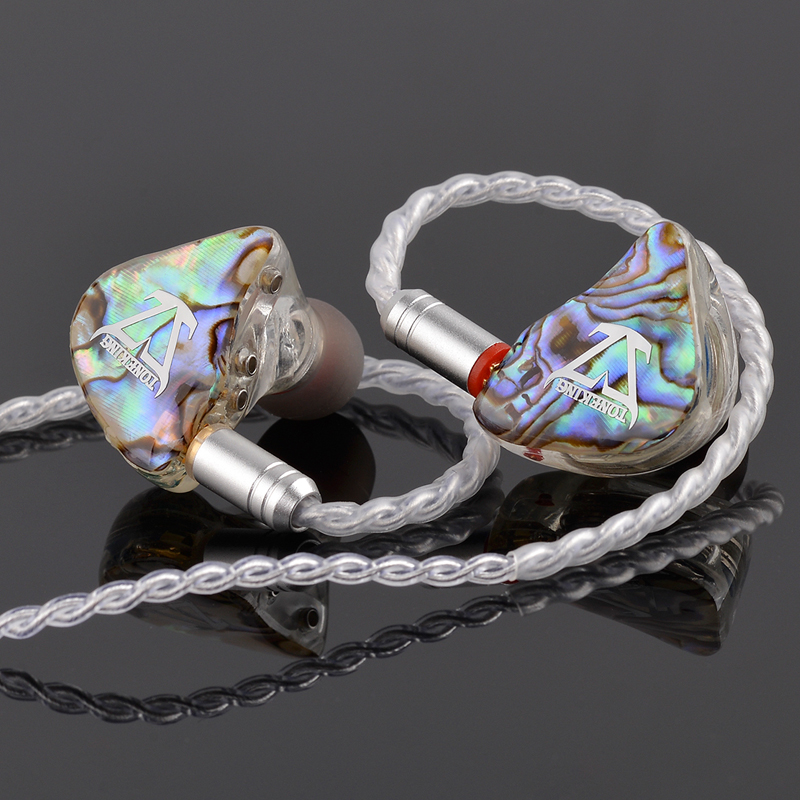 TONEKING BL1 14mm Orthodynamic Planar Diaphragm Unit In Ear Earphone HIFI Earphone Detachable Detach MMCX Cable Custom Earphone