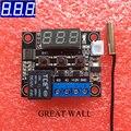 W1209 DC Blue LED 12 V interruptor de control de calor termostato frío temperatura controlador de temperatura termómetro termo