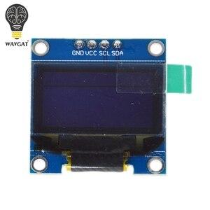"Image 3 - 0.96นิ้วOLED IIC Serialสีขาวโมดูล128X64 I2C SSD1306 12864หน้าจอLCD Board GND VCC SCL SDA 0.96 ""สำหรับArduino Black"