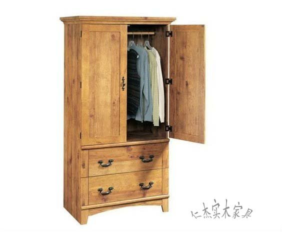 Solid Wood Birch Clothes Wardrobe Bedroom Europe Style Furniture Factory Direct Product By Request Or Draw