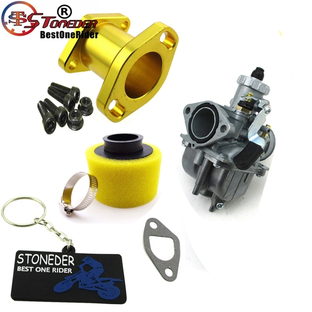US $52 45 19% OFF|STONEDER Racing Performance Carburetor Carb Mainfold Air  Filter M6 Screw Bolts For Predator 212cc GX200 196cc Mini Bike Go Kart-in