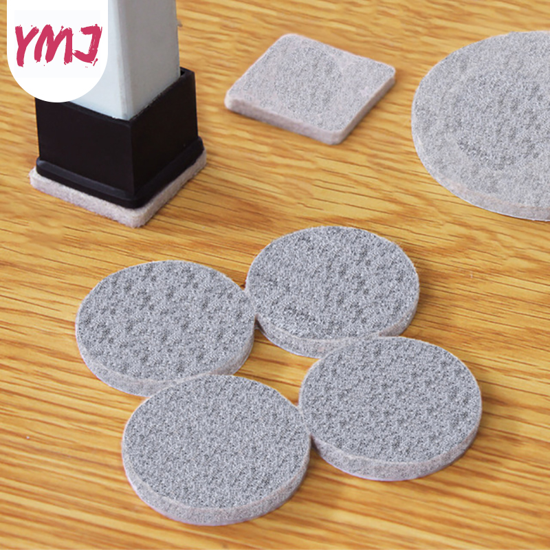 Non-woven Furniture Legs Self Adhesive Feet Rug Felt Pads Non-slip Wear-resistant Cushion Sofa Cabinet Bumper Damper For Chair