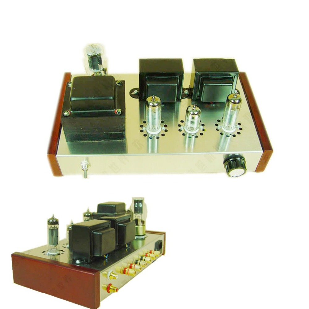 Classical Manual Make Vacuum Tube Amplifier Use 5z4p 6n1 6p14 Rectifier Schematic Further Power Lifier Schematics Sound Clear And Bright Home Audio Speaker Amp Diy Kit In From Consumer