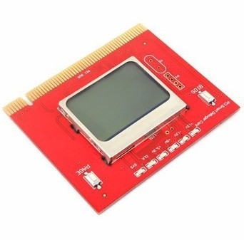 Retail+wholesale Brand NEW LCD PCI PC Computer Analyzer Tester Diagnostic Card computer main board fault error analyzer tester diagnostic card module w pci interface lcd screen