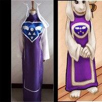 Anime Undertale Toriel Cosplay Costume Custom Made