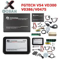 FGTECH Galletto 4 Maste BDM TriCore OBD FG V54 VD300 V0386/V0475 ECU Programming Tool Support BDM Full Function