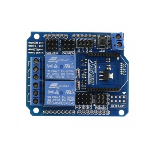 US $8 35 15% OFF|2 Channel Relay XBee BTBee Shield For Arduino UNO MEGA R3  Mega2560 Duemilanove Nano Robot-in Integrated Circuits from Electronic