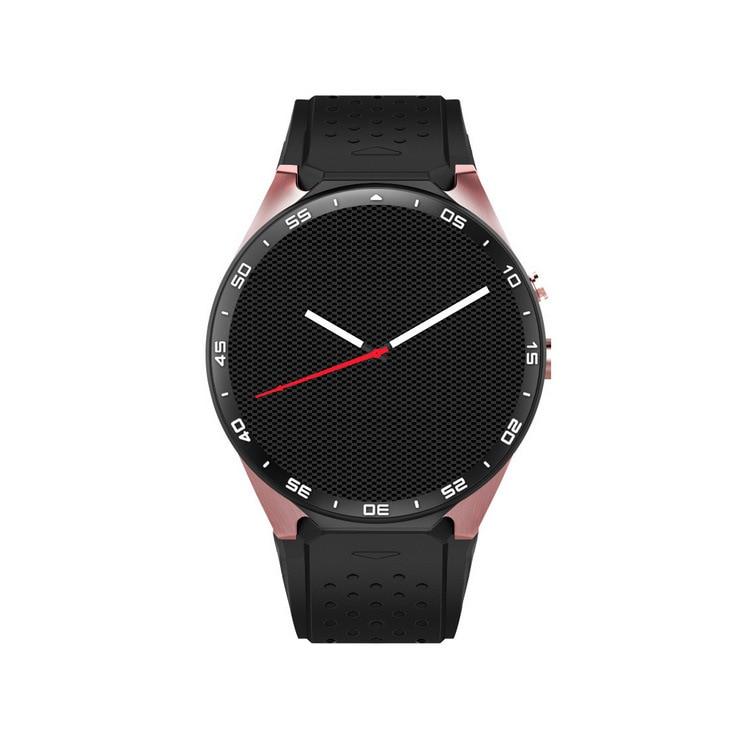 Kw88 symrun 2017 caliente android 5.1 os smart watch 1.39 pulgadas 400*400 Smart