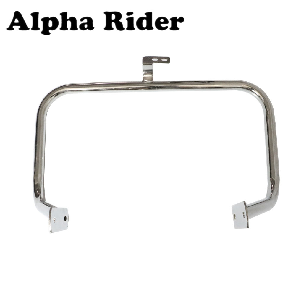Engine Guard Highway Crash Bar Fence Bumper Frame Protector For Honda Shadow ACE VT400 ACE VT750 1997-2003 High Quality Steel high quality for bmw r1200gs 2013 2014 2015 motorcycle upper engine guard highway crash bar protector silver