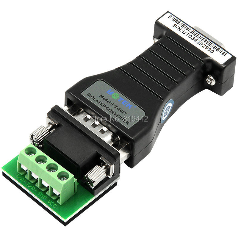 RS232 to RS485 converter bidirectional to 485 to 232 optical isolation conversion module rs485 converter rs232 rs485 rs485 converter passive monitoring accessories