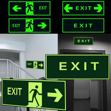 Luminous Tape Self adhesive Glow In Dark Sticker For Exit Sign Walls Safety Stage Night Vision Home Decoration Tape