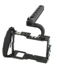 купить Professional Protective Housing Case Handle Grip Rugged Cage Combo for A7,A7r,A7s DSLR Rig Digital Camera дешево