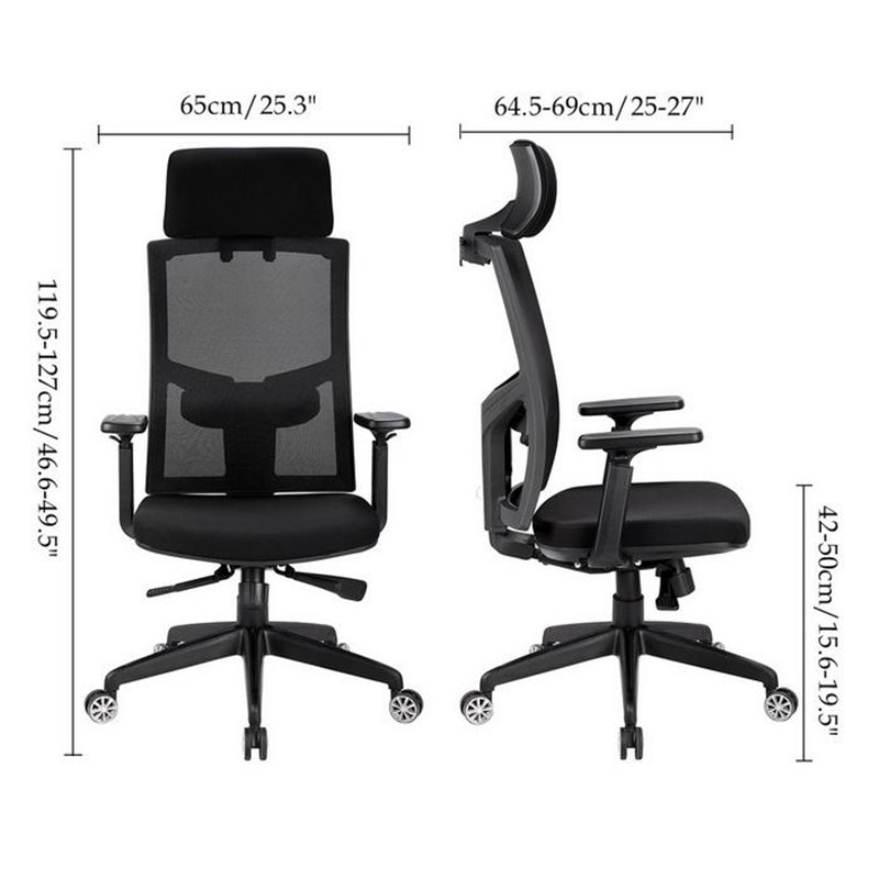 Sensational Homdox Office Sleep Chairs Ergonomic Mesh High Back Office Gmtry Best Dining Table And Chair Ideas Images Gmtryco