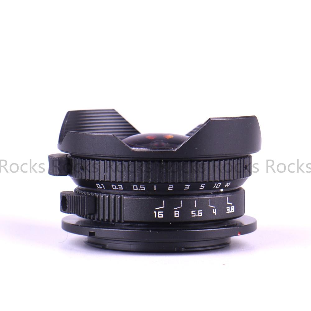 Pixco Camera 8mm F3.8 Fish-eye suit voor Micro Four Thirds Mount - Camera en foto - Foto 2