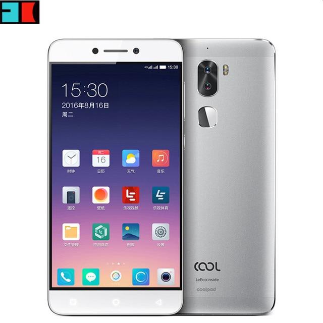"Original Letv Cool 1 Dual Leeco Coolpad Cool1 Snapdragon 652 Mobile Phone 3GB RAM 32GB 5.5"" FHD 13MP Dual Cameras Fingerprint ID"