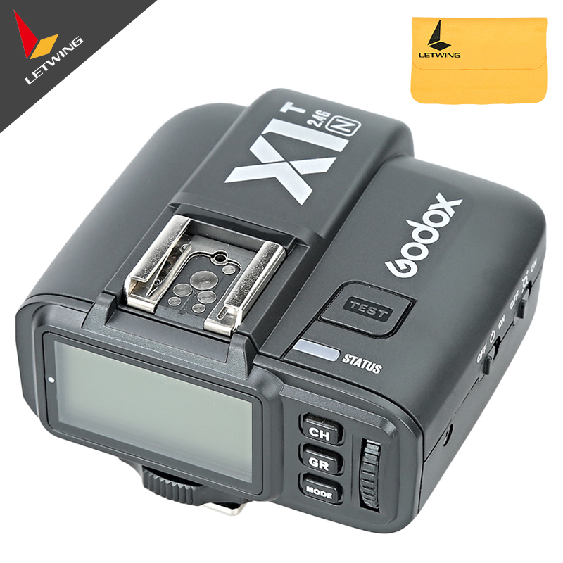 Newest Godox X1N T TTL 2 4 G Wireless Transmitter Kit For Nikon D800 D3X D3