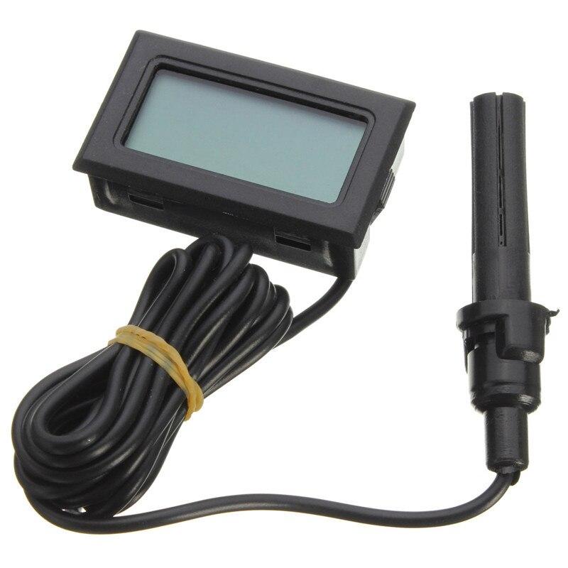 Neue Mini Sonde LCD Digital Thermometer Hygrometer Temperatur-Und Feuchtigkeitsmessgerät LCD Display-10 Celsius...