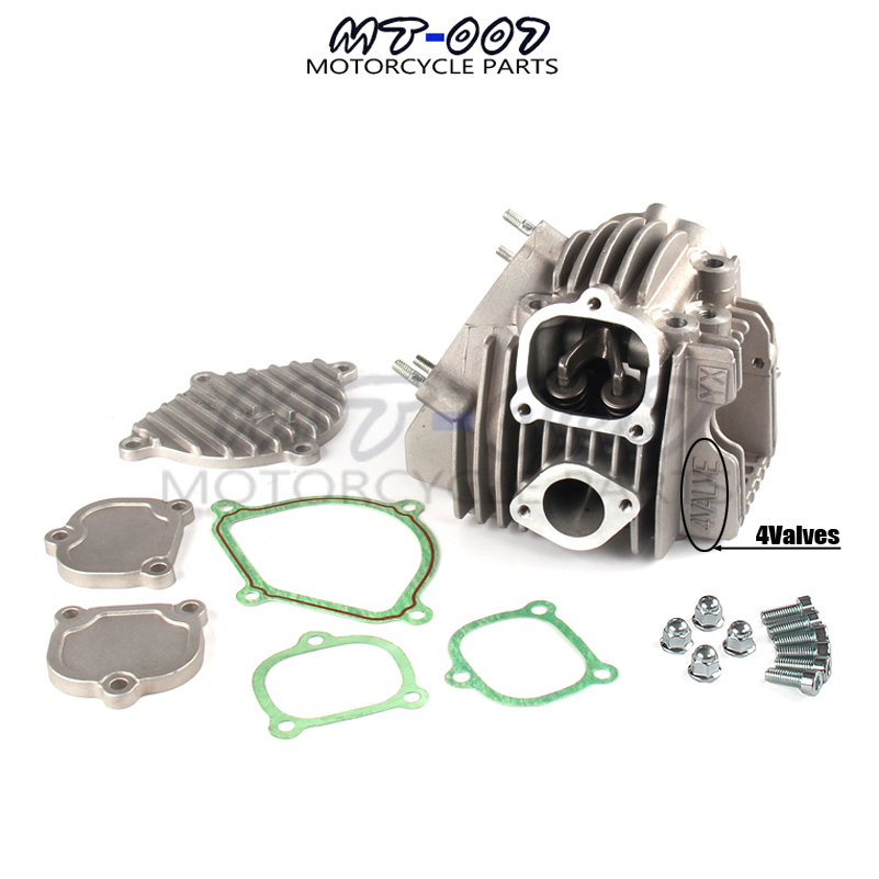 YX150 YX160 4 Valves Engine Cylinder Head Kit Parts For Chinese GPX YX 150cc 160cc Dirt Trail Pit Bike Mini Motocross