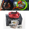 Rpm cnc motocicleta scooter de freno caliper + 200mm/220mm adaptador de la bomba de freno de disco conjunto soporte para yamaha aerox nitro rsz jog bws zuma