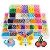 Hot Selling 5mm Aqua Beads DIY 3d Puzzles Toys Set Hama Beads Perler Beads New