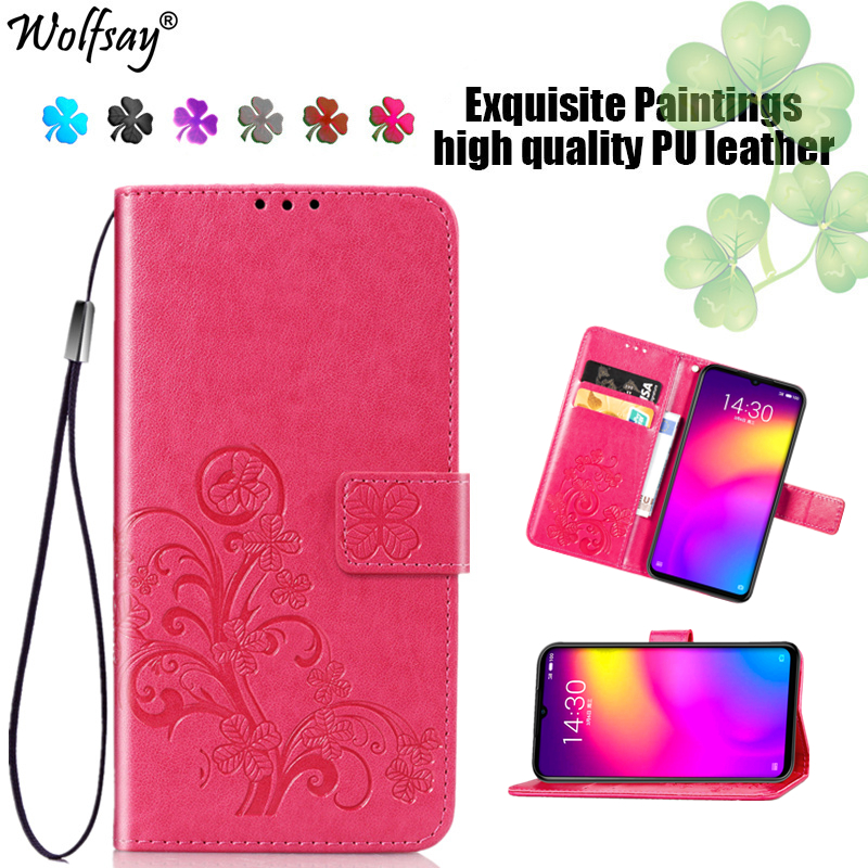 Meizu Note 9 Case Fashion Flip Magnetic Leather Full Protective Case For Meizu Note 9 Wallet Phone Bag For Meizu Note 9 Cover