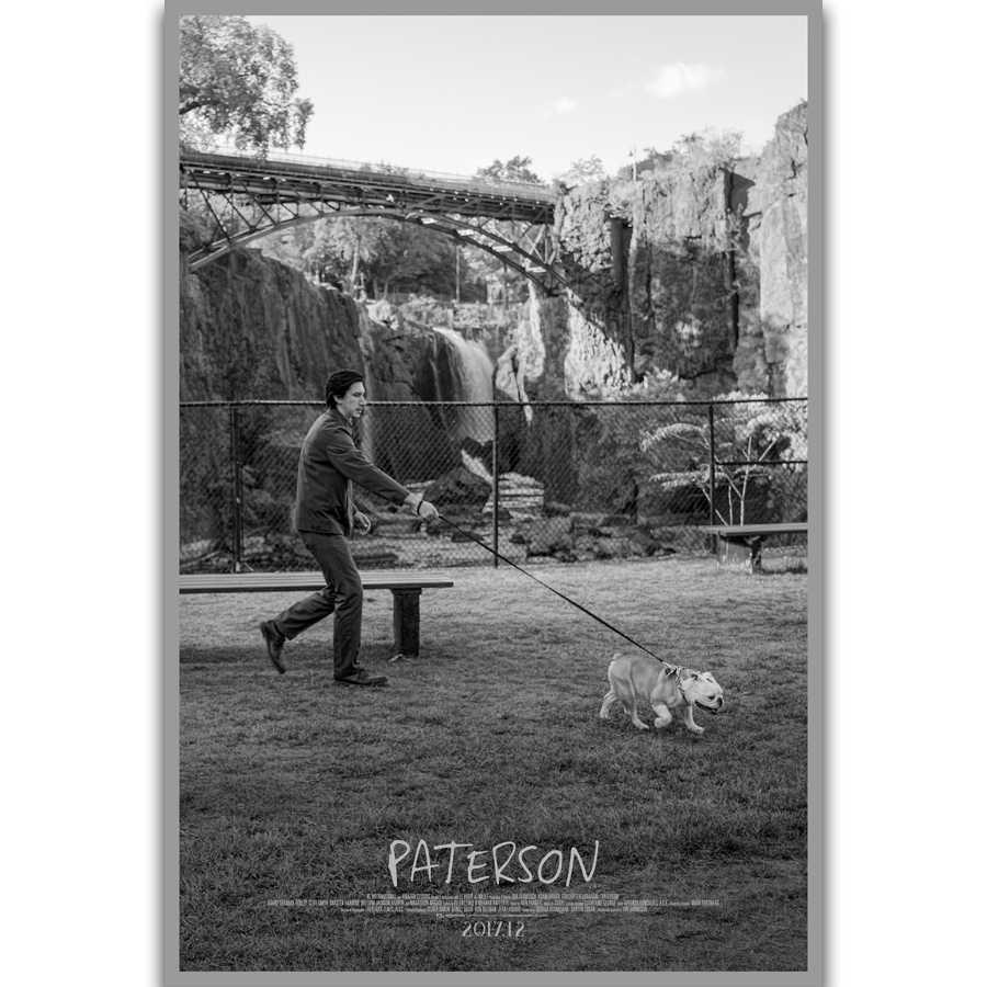 S194 Paterson Film Adam Sürücü Film Duvar Sanat Baski Baski Baski Ipek Tuval Posteri Ev Dekorasyon