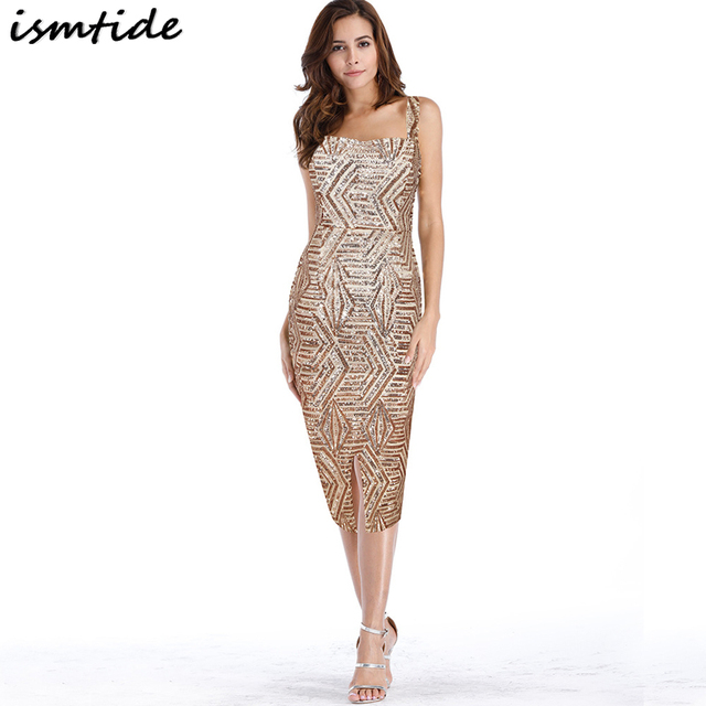 3e23dd08493 Golden Party Dress 1920S Gatsby Sequin Bandage Dress 2018 New Off Shoulder  Sequin Bandage Dresses Vintage Dresses For Women 2XL