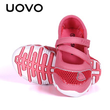 UOVO Breathable Pincess Girls Shoes Spring Shoes for Little Girls Cartoon Shoes Flats Eur Size 27#-33#