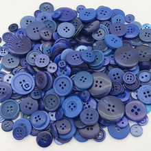 50Gram Mix Size Beautiful Resin Round Buttons Sewing DIY Scrapbooking Decals for Kids Crafts Accessories hl 18x15mm 50 100pcs mix color fish shank plastic buttons children s garment sewing accessories diy crafts