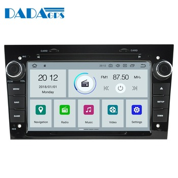 Newest Android 9.0 Car DVD multimedia player Auto Radio For Opel Astra H G J Antara VECTRA ZAFIRA Vauxhall GPS map Navigation