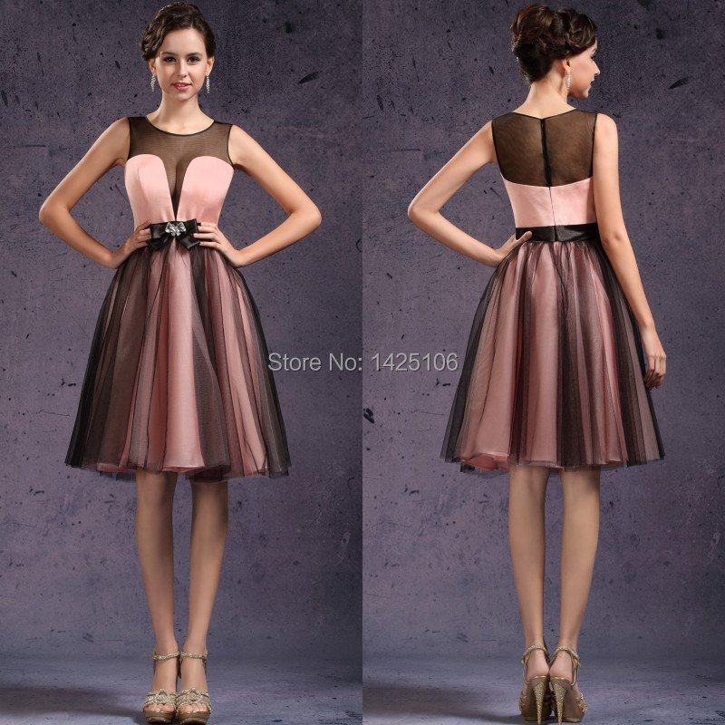 Compare Prices on Cocktail Pink and Black Dress- Online Shopping ...
