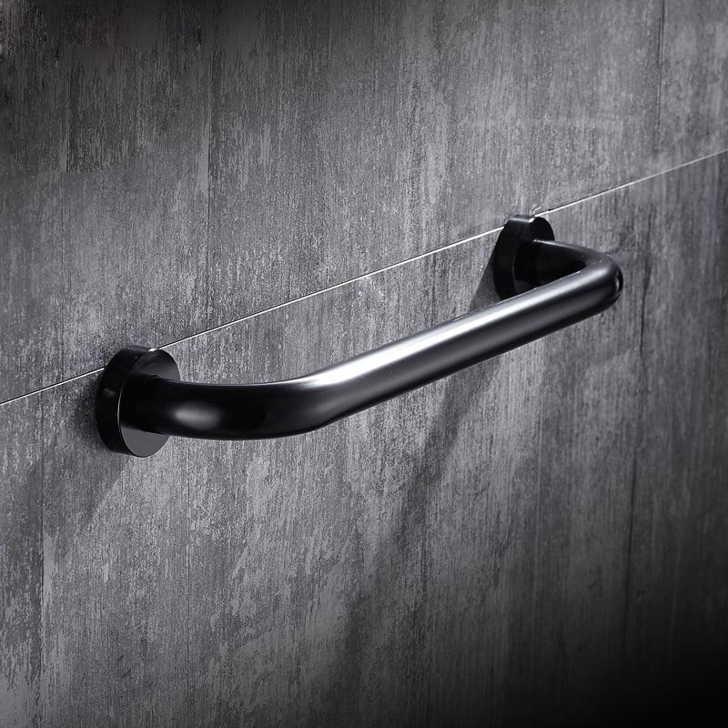 Space aluminum Bathroom Handle Grab Bar Safety Bath Shower Tub  Grab Non-slip Handle Rail Grip bathroom accessories