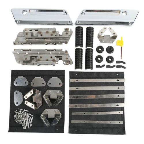 Audacious Tcmt Saddlebag Hardware Latch Set Kit For Harley Touring Electra Street Glide Road King Flt Flht Flhrc 1994-2013 Motorcycle Accessories & Parts Frames & Fittings