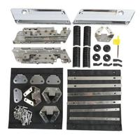TCMT Saddlebag Hardware Latch Set Kit For Harley Touring Electra Street Glide Road King FLT FLHT FLHRC 1994 2013