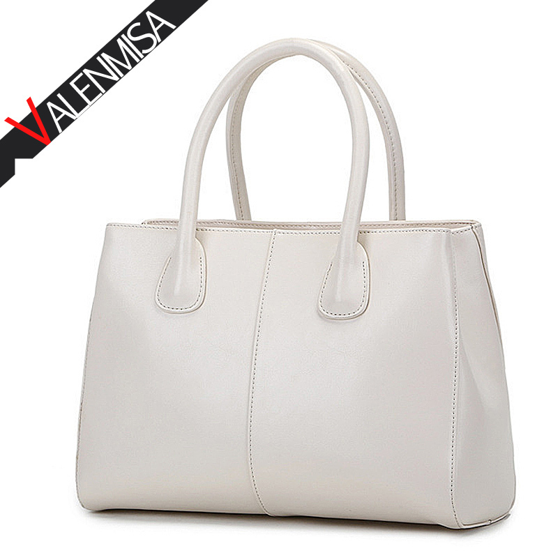 VALENMISA Brand Real Genuine Leather Bags For Women Designer Handbags High Quality Shoulder Messenger Bags 2017 Fashion Tote Bag