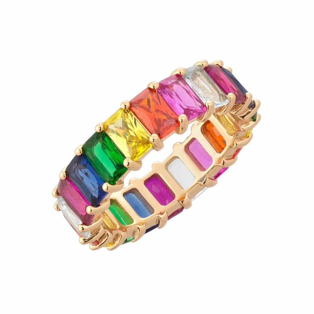 Aliexpress.com : Buy Gold Filled Fashion Jewelry Rainbow