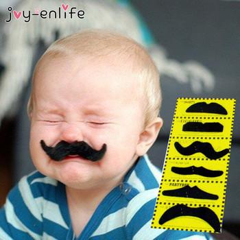 JOY-ENLIFE śmieszne fałszywe wąsy Pirate Party Halloween Cosplay wąsy sztuczna broda wąs dla dzieci dorosłych czarne rekwizyty do budki fotograficznej tanie i dobre opinie CN (pochodzenie) Fashion
