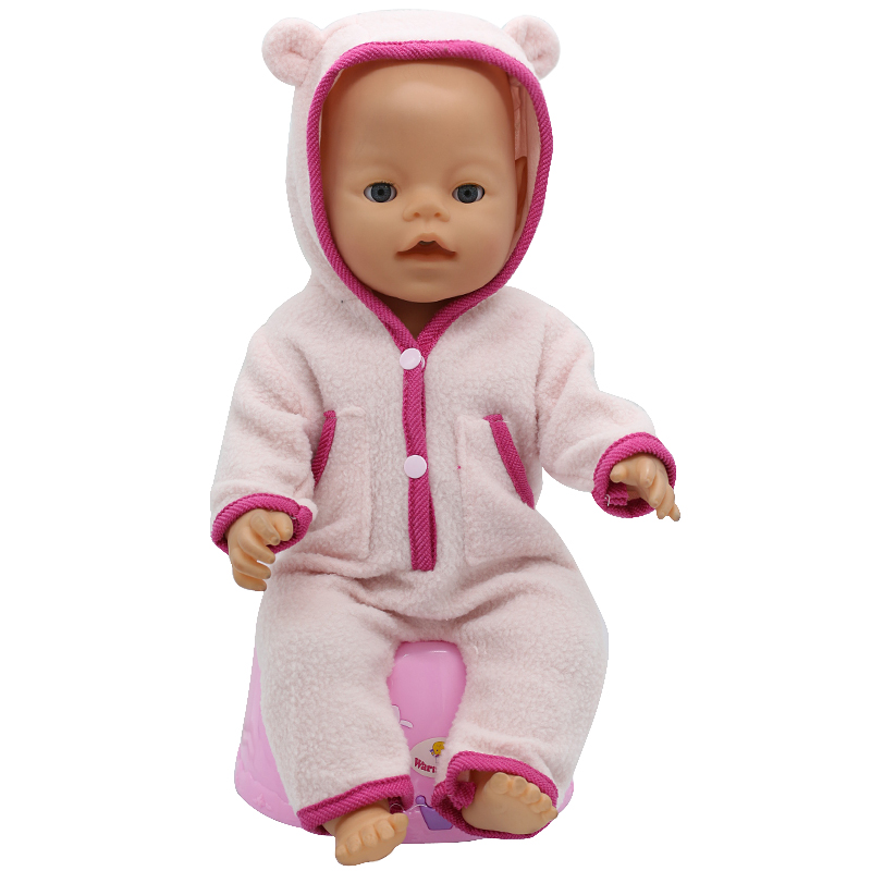 Tiger-Jackets-and-Pants-Suit-Dress-Doll-Clothes-fit-43cm-Baby-Born-Zapf-Doll-Clothes-and-17inch-Doll-Accessories-Handmade-186-2
