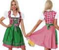 free  shipping HB-1014 Wench German beerwomen oktoberfest costume  2 color  have S,M,L,XL,2XL in stock