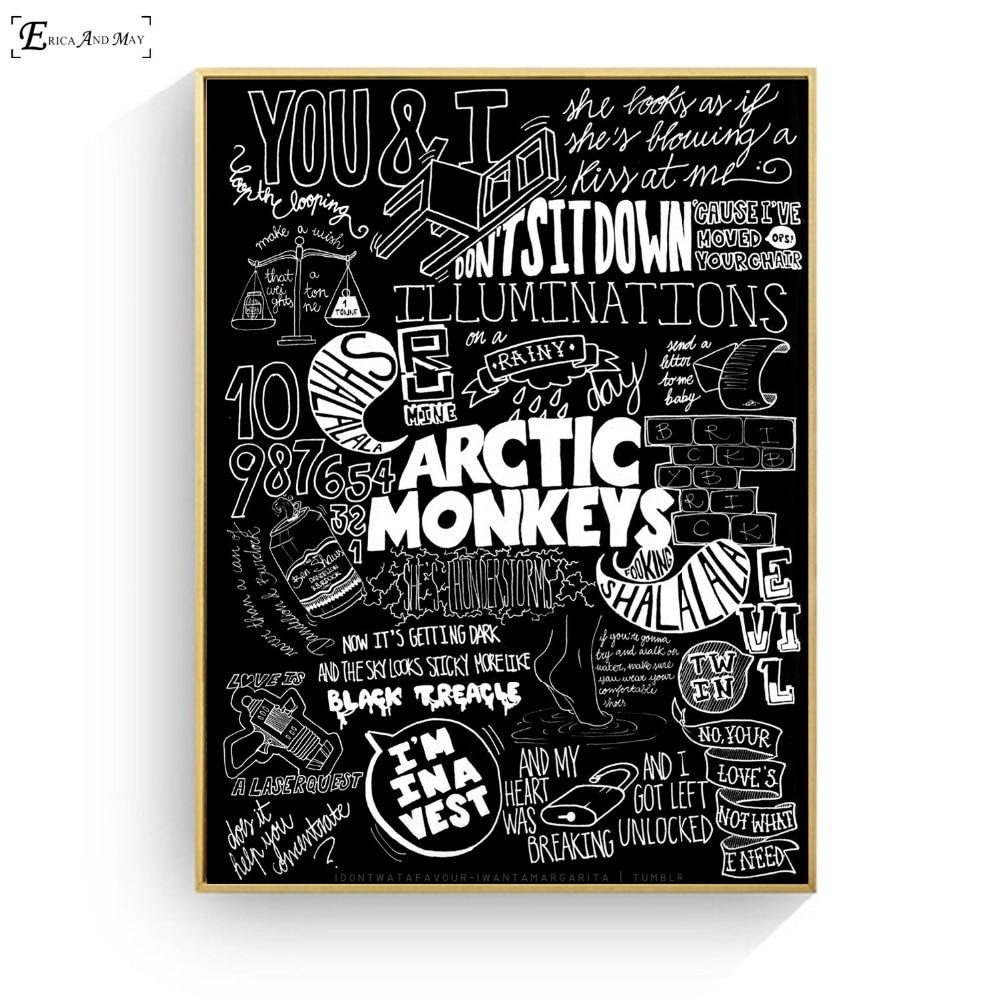 arctic monkeys art print poster art